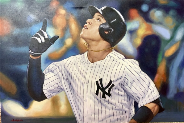 Aaron Judge Original Art by Doo S. Oh