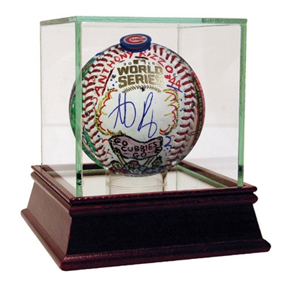 Anthony Rizzo Signed Charles Fazzino Pop Art 2016 World Series Baseball (Fanatics Auth)