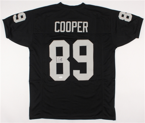 Amari Cooper Raiders Cowboys Hand Signed Jersey (Letters and #s are Sewn On) JSA COA No Reserve