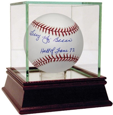Larry Yogi Berra Signed MLB Baseball w/ Hall of Fame 72 Insc