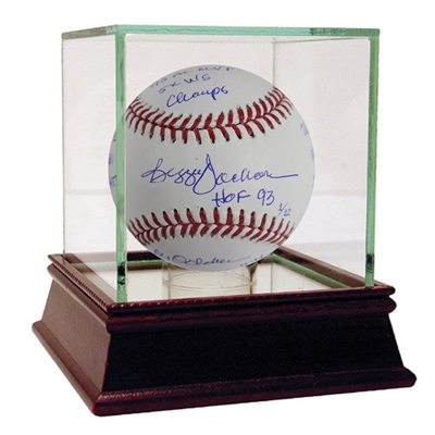 Reggie Jackson Signed MLB Baseball w/ 14 Inscriptions (LE of 12)