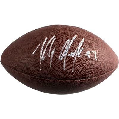 Rob Gronkowski Signed Wilson Replica NFL Football