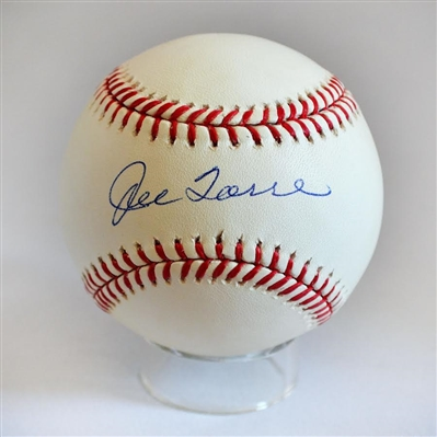 NY Yankee Manager Joe Torre signed baseball (JSA Autenticated)
