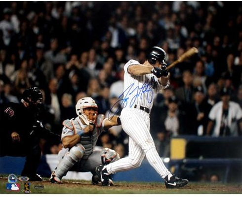 Tino Martinez Signed 98 World Series Game 1 Grand Slam 16x20 Photo MLB & Steiner Auth