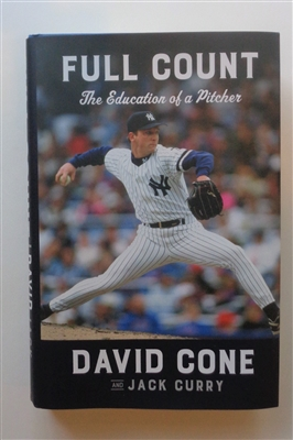 "David Cone NY Yankees Signed New Hard Copy Book ""Full Count"" also signed by Co-Author Jack Curry NO RESERVE"