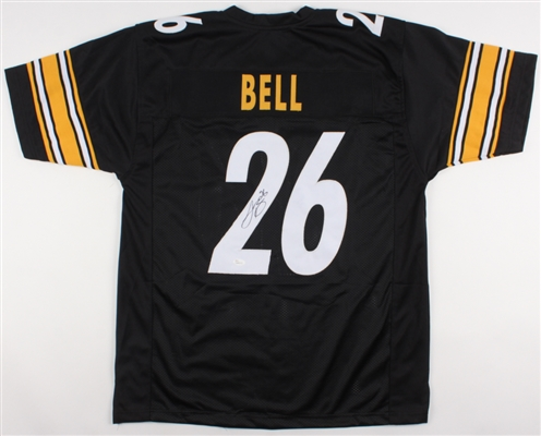 Leveon Bell Steelers Hand Signed Jersey (Letters and #s are Sewn On) JSA COA No Reserve