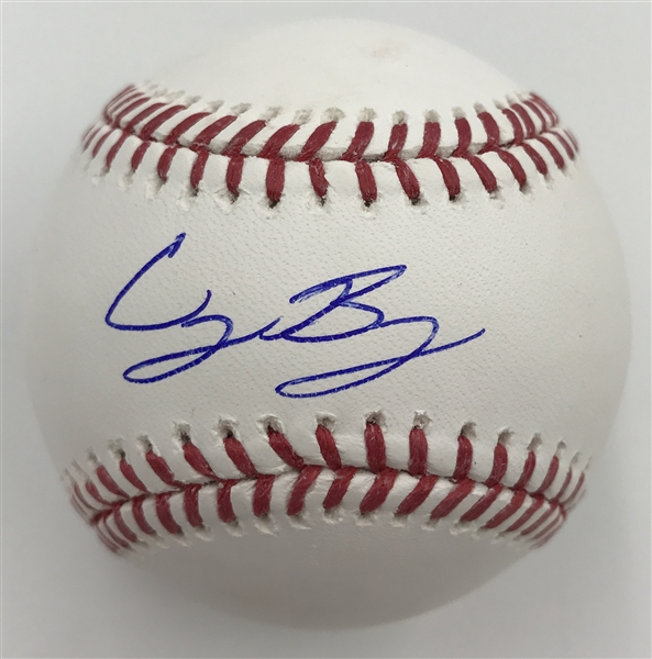 Red Hot! CODY BELLINGER LA Dodgers Signed OML Baseball MLB Authenticated RESERVE MET!