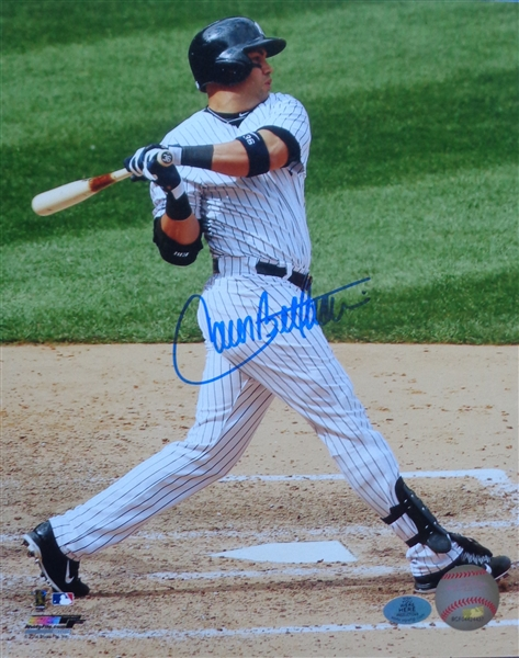 Carlos Beltran Yankees Signed 8x10 AWESOME Batting Photo MLB Licensed WYWHP Certified No Reserve