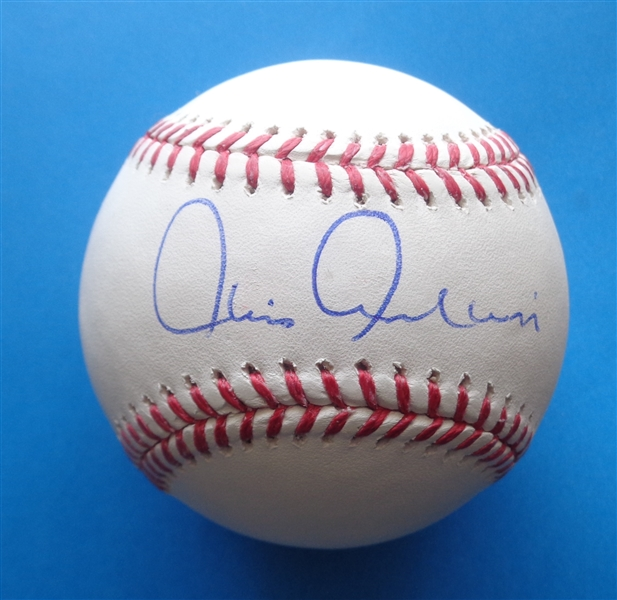 Chris Chambliss Yankees Signed OML Baseball WYWHP Certified No Reserve