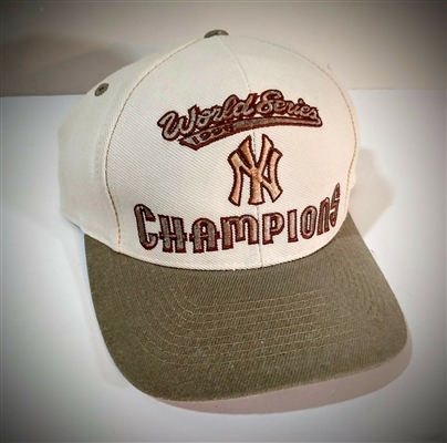 1998 Yankees World Series Champions Snapback Hat/Cap MLB Licensed NEW No Reserve