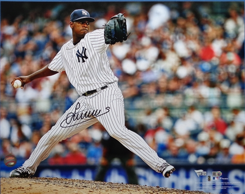 LUIS SEVERINO YANKEES ACE SIGNED 16X20 PHOTO MLB & FANATICS CERTIFIED 4/8! No Reserve