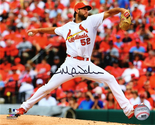 Michael Wacha Signed Cardinals Pitching Action 8x10 Photo