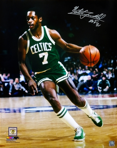 Nate 'Tiny' Archibald Signed Boston Celtics Action 16x20 Photo w/HOF'91