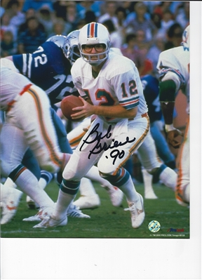 Miami Dolphins Bob Griese Signed 8x10 Photo
