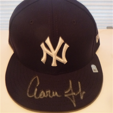 New York Yankees Aaron Judge Signed Hat