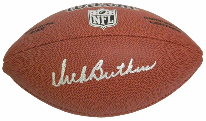 Dick Butkus Signed Wilson Limited Full Size NFL Football