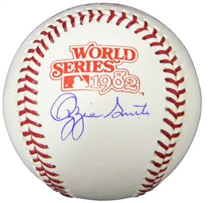 Ozzie Smith Signed Rawlings 1982 World Series Baseball