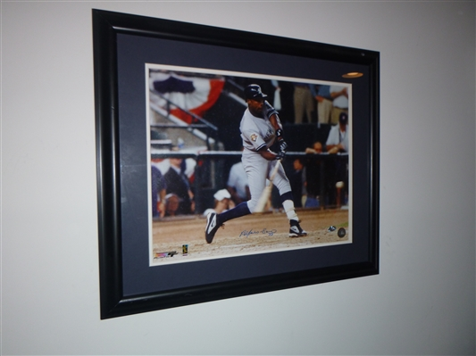 New York Yankees Alfonso Soriano Signed 16x20 Photo Framed