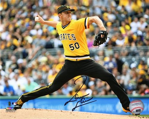 Jameson Taillon Signed Pittsburgh Pirates Pitching Action 8x10 Photo