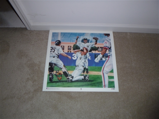 New York Yankees David Cone Perfect Game Lithograph