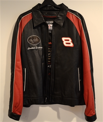Nascar Dale Earnhardt JR Signed Limited Edition 928/1000 Leather Jacket