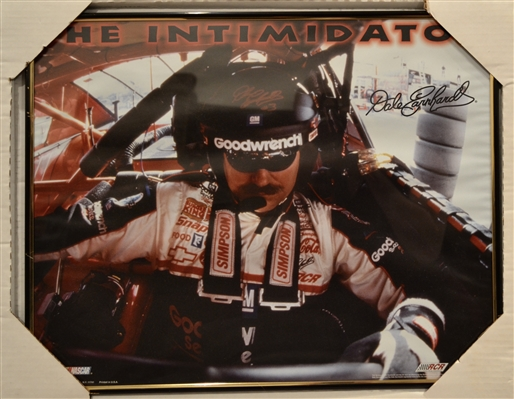 Nascar Dale Sr Unsigned Photo Framed