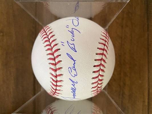 "New York Yankees Signed Baseball By Russell Earl ""Bucky"" Dent - Very Rare Full Name Signature"