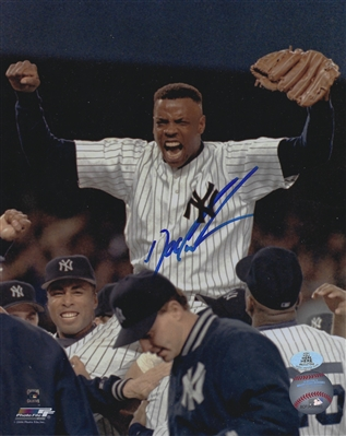 "New York Yankees Dwight ""Doc"" Gooden Signed 8x10 Photo"