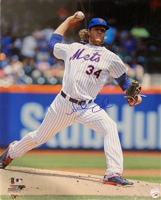 New York Mets Pitcher Noah Syndergaard Signed 16x20 Photo