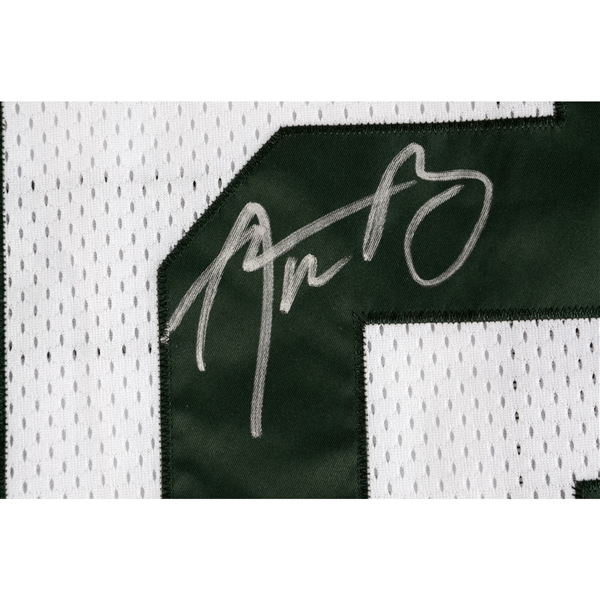 Aaron Rodgers Green Bay Packers Autographed Nike White Elite Jersey