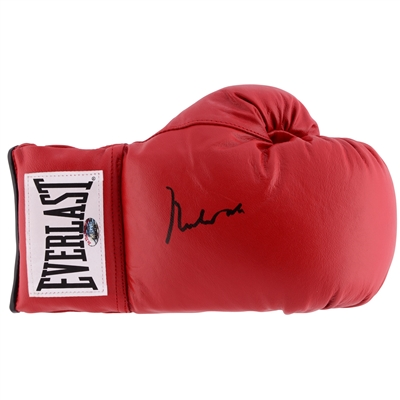 "Muhammad Ali Autographed Red Boxing Glove with PSA Grade ""10"" Authentication  - PSA/DNA"