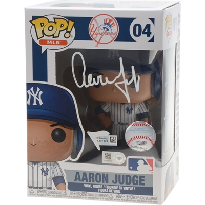 Aaron Judge New York Yankees Autographed Funko Figurine - Limited Edition of 100 - Fanatics Exclusive