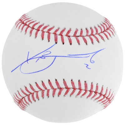 Xander Bogaerts Boston Red Sox Autographed Baseball