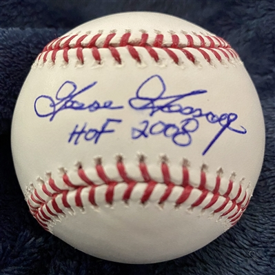 New York Yankees Goose Gossage Signed Baseball With HOF 2008 Inscription