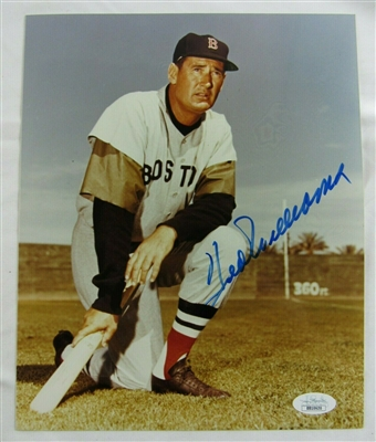Redsox Ted Williams Signed 8x10 Photo JSA
