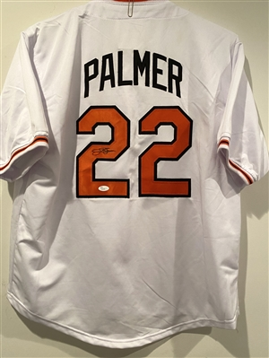 Baltimore Orioles Hall Of Famer Jim Palmer Signed Jersey