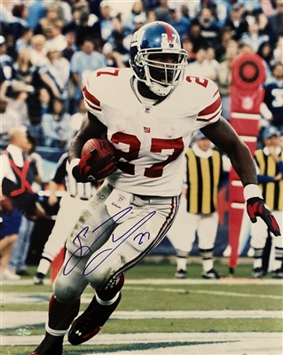 New York Giants former Running Back Brandon Jacobs Signed 16x20 Photo