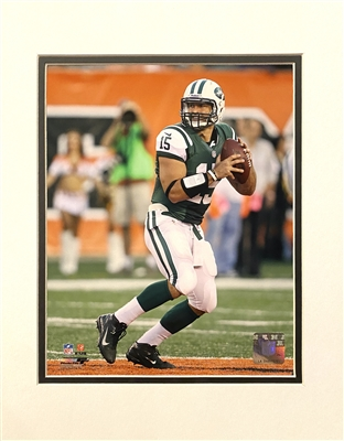New York Jets Former QB Tim Tebow Unsigned 8x10 Photo Matted