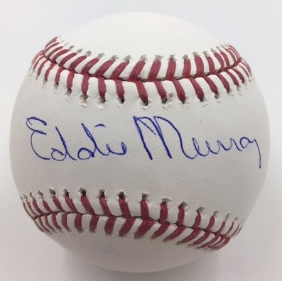 Baltimore Orioles Eddie Murray Autographed Baseball